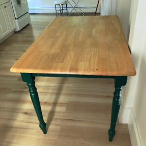 Table, 29 inches high