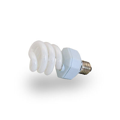Energiesparende Terrarien Kompaktlampe 2.0 UVB , 23 Watt , E27 Gewinde