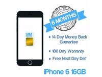 Cheap Apple iPhone 6 Locked & Unlocked
