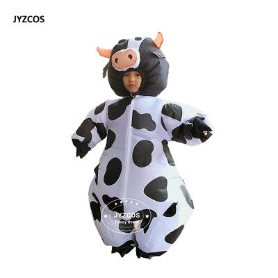 Inflatable Cow Costume Party Dresses for Women Cosplay Kids Carnival Fantasy - Fantasy Costumes For Adults