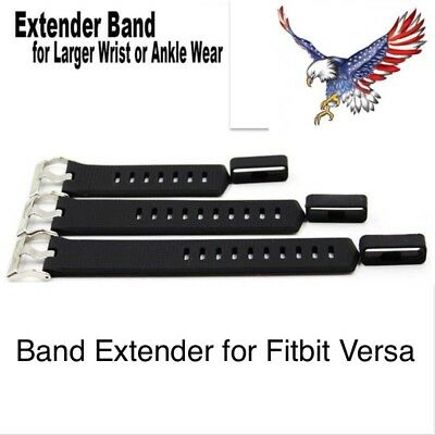 Fitbit VERSA XL Extra Large Band Extender Extension Set Larger Wrist or Ankle (Swimming Ankle Band)