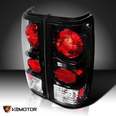 - Black 82-93 Chevy S10 Blazer S15 Sonoma Tail Lights Reverse Rear Brake Lamp PAIR