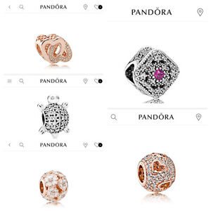 LOOKING TO BUY THESE 5 PANDORA CHARMS! Can buy as early as today