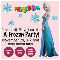 Elsa is coming to the Playtrium