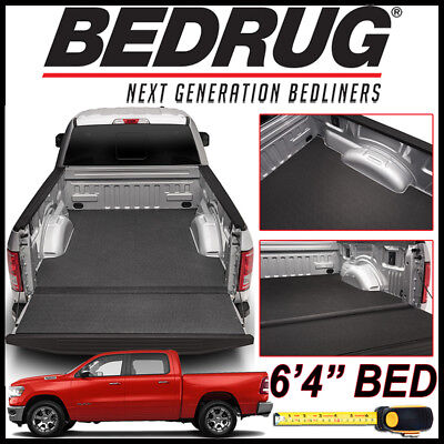 """BEDRUG BedTred IMPACT Bed Liner Mat fit 2019 Dodge Ram 1500 NEW BODY w/ 6'4"""" BED"""