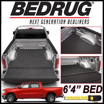 """BEDRUG BedTred IMPACT Bed Liner Mat fit 2019-2020 Dodge Ram 1500 w/ 6'4"""" BED"""