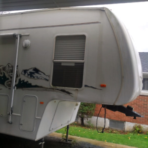 A Pristine 1 owner travel trailer