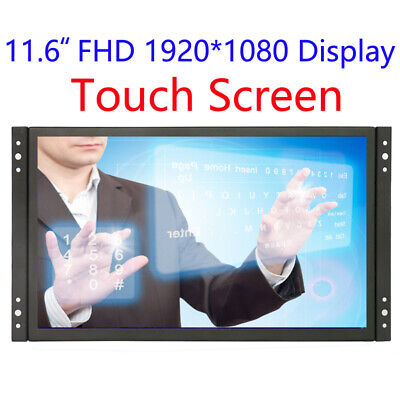 Frame Touch Monitor 11.6 inch 1920*1080 with VGA/HDMI/USB plug and play