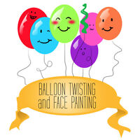 Balloon Twisting and/or Face Painting for your Event!