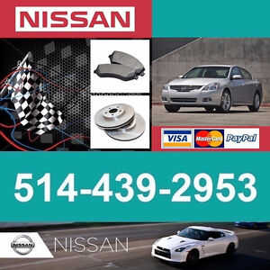 Nissan Altima ► Freins et Disques • Brakes and Rotors