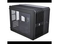PC COMPONENTS, PC CASE, MOTHERBORAD, PSU, WATER COOLING SYSTEM FOR PROCESSOR