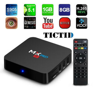 Android Box Free TV Streaming Device w/ USB Keyboard Remote.