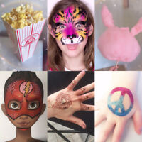 Face Painting, Airbrush Tattoos / Face Painting, Glitter Tattoos