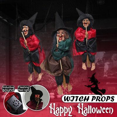 Halloween Horror Party Dekoration Hexe Helle Augen Hängedeko Bar Soundeffekt (Halloween Horror Sounds Effekte)