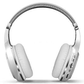 BLUEDIO Bluetooth 4.1 Stereo Headphones / FM Radio - NEW