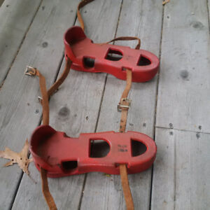 Vintage Divers Iron Shoes