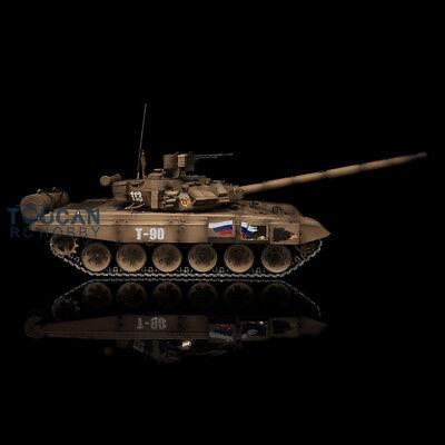 US Stock HengLong Metal Wheels 3938 Dessert Yellow 1/16 Russian T90 RTR RC Tank for sale  Cranbury