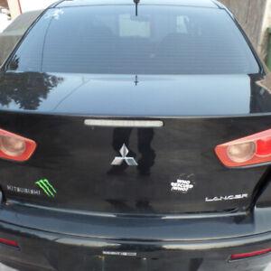 Mitsubishi lancer rear trunk lid