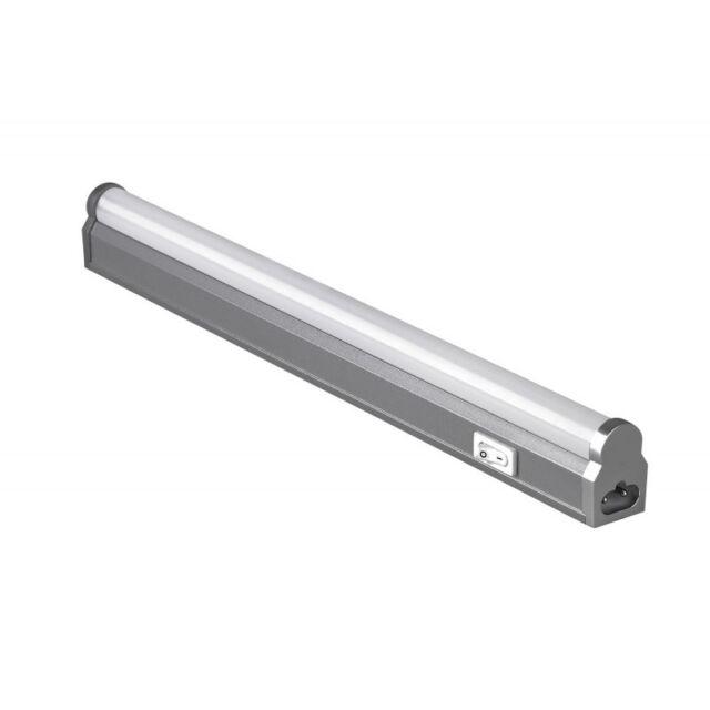 Unterbauleuchte LED 87cm Alu Küche Lichtleiste Mini für Steckdose Küchenlampe