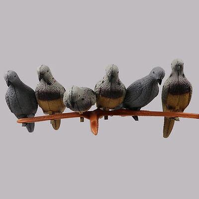 3D Pigeon Bogenschießen Pfeil Ziel für Tier Praxis Recurve Armbrust Jagd Spiel ()