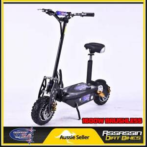 ASSASSIN USA DE1600W 1600WATT BRUSHLESS 48V ELECTRIC SCOOTER 1000 Taren Point Sutherland Area Preview