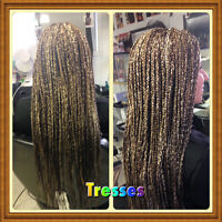 Tresses africaines promo  a 180$
