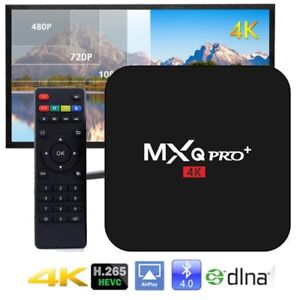 2018 MXQ PRO PLUS Android 7.1.2 TV Box 2GB Ram KODI IPTV Boite