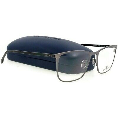 LACOSTE Male Eyeglasses Size 55mm-145mm-19mm