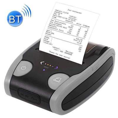 Usb Mini 58mm Bluetooth Wireless Mobile Pos Thermal Receipt Printer - Gray