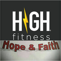 HIGH FITNESS LAUNCH PARTY & FUNDRAISER