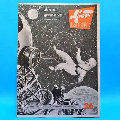 DDR Sport im Bild 26/1960 Innsbruck Finnland Gewichtheber Algerien Kosmonauten