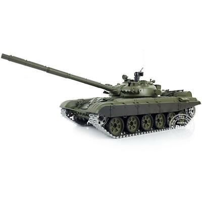 1/16 Scale 6.0 Upgraded Metal Main Battle Tank Henglong T72 RTR RC 3939 Model for sale  Shipping to Ireland