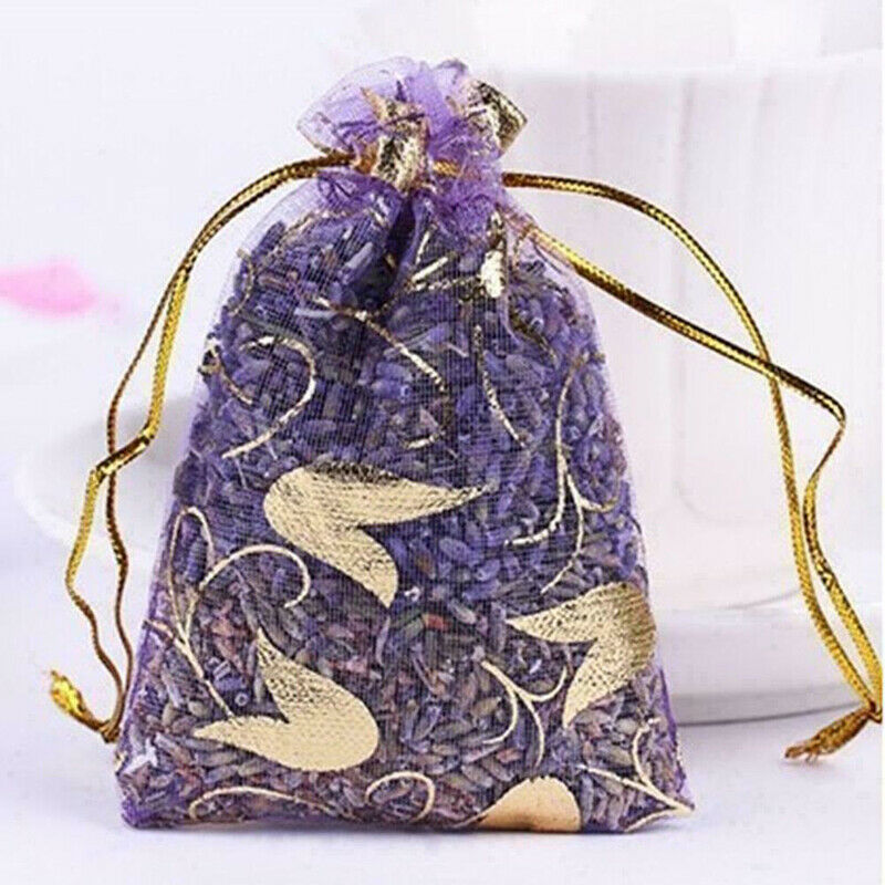 Real Natural Dry Lavender Organic Dried Flowers Sachets Bud Bag ScenYYQA