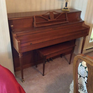 Mason & Risch piano & bench