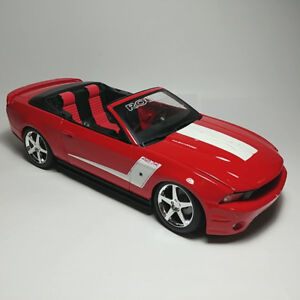 Rare Maisto Red 2010 Roush Ford Mustang 427R Convertible