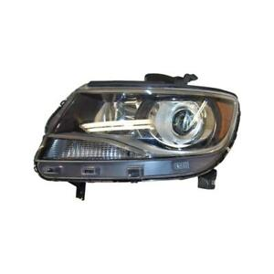2015-2017 Chevrolet Colorado Driver Side Halogen Headlight Assembly - CAPA Certified ®