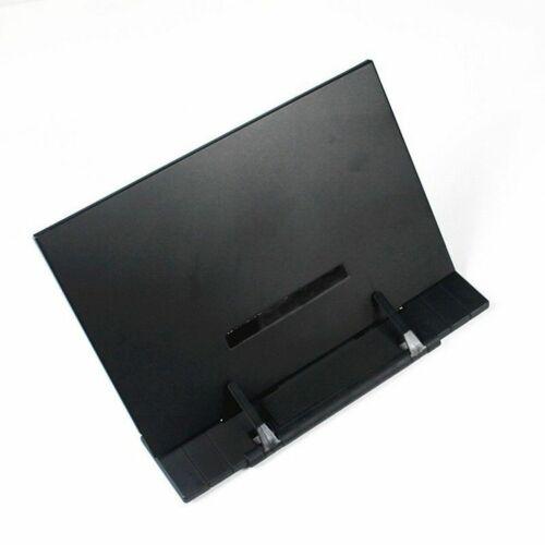 Portable Steel Book Reading Desk Stand Adjustable Document Holder Files Office