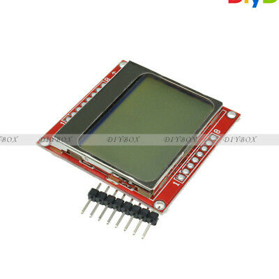 8448 Lcd Module White Backlight Adapter Pcb For Nokia 5110 D