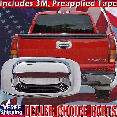 (2001-2006 CHEVY SILVERADO GMC SIERRA 2500 3500 Chrome Tailgate Handle COVER)