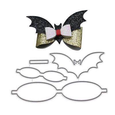 Bats Bow Tie Cutting Dies Stencil DIY Scrapbooking Embossing Paper Card Craft