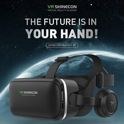 Virtual Reality Headset Headsets SHINECON 3D Glasses for TV