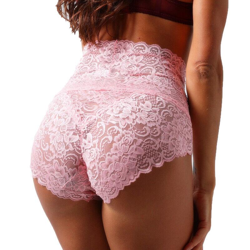 Women Lace Panties Underwear Knickers Seamless Briefs Lingerie Female Plus Size