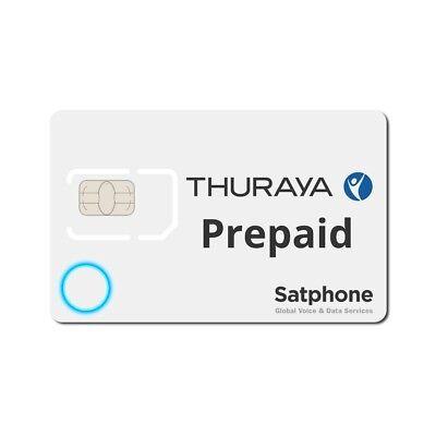 Thuraya PrePaid Nova PLUS SIM card