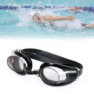 AntiFog Swimming Goggles UV Protection Wide View Glasses With Nose Clip Ear (Wide Nose Glasses)