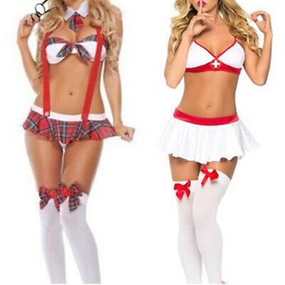 urse Or Student Uniform Costume Suspender Halloween CosplayS (Halloween-cosplays)