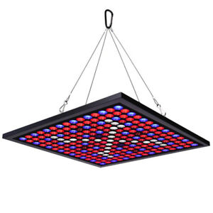 HIGROW 45W LED Grow Light Panel 225 LEDs 6-Band Full Spectrum