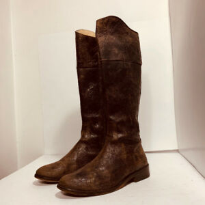 STEVE MADDEN - leather boots / authentic - size 7.5 US