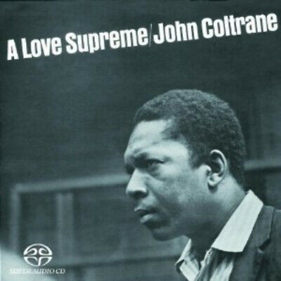 JOHN COLTRANE A Love Supreme RARE OOP SUPER AUDIO SACD
