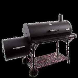Char-Broil Deluxe Offset BBQ Smoker