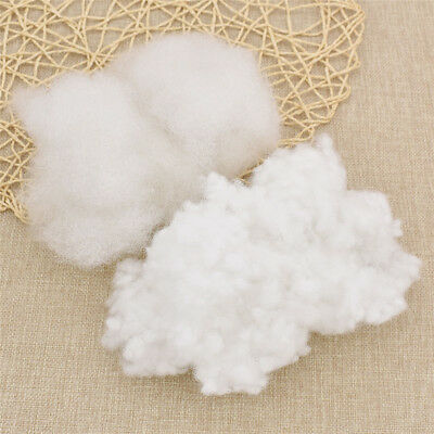 Soft White Pillow Insert Fiberfill Batting Dolls Stuffing Diy Toy Craft Handmade